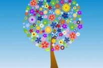 Free vector Vector flower  Flower Tree Vector