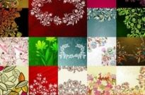 Free vector Vector background  Flowers Pattern background