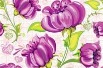 Free vector Vector background  Flowers Seamless Vector Background