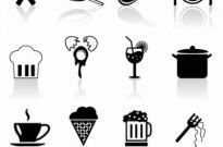 Free vector Vector icon  Foods icon set