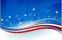 Fourth of july background Free vector 1.88MB