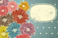 Free vector Vector background  Free Background Flower Texture