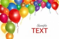 Free vector Vector background  Free Balloon Background