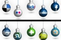 Free vector Vector icon  Free Christmas Social Icons