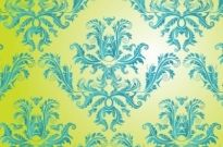 Free vector Vector pattern  Free Damask Vector Pattern