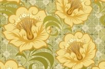 Free vector Vector floral  Free Floral Seamless Background Vector