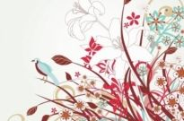 Free vector Vector floral  Free Floral Vector Art