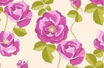 Free vector Vector background  Free Flowers Vector Pattern Background