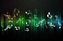 Free vector Vector background  Free Music Abstract background