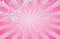 Free vector Vector background  Free Pink Swirls Background