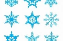 Free vector Vector misc  Free Snowflakes Vector Set