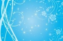 Free Swirly Blue Stars Vector Background Free vector 817.67KB