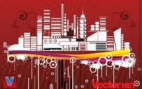 Free vector Vector misc  Free Urban City Vector Illustration