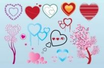 Free vector Vector Heart  Free Valentine Heart Vector Graphics
