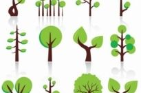Free vector Vector abstract  Free Vector Abstract Trees
