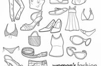 Free vector Vector misc  Free Vector Doodles – Women's Clothing & Fashion