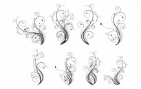 Free vector Vector misc  Free Vector Flourishes