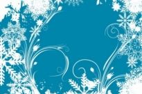 Free vector Vector misc  Free Vector Graphic  Winter Swirls