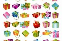 Free vector Vector misc  Gift Box Collection Vector Graphic