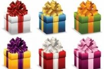 Free vector Vector misc  Gift Boxes with Ribbon Vector Illustration