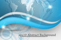 Free vector Vector background  Global Technology vector background001