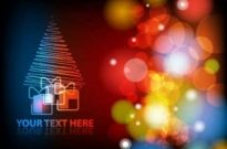Free vector Vector background  Gorgeous Christmas background