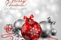 Free vector Vector background  Gorgeous Christmas vector background