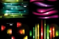 Free vector Vector background  gorgeous glow background 01 vector