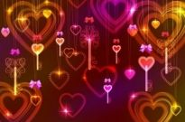 Free vector Vector Heart  gorgeous light of valentine39s day 03 vector