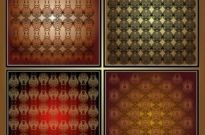 Free vector Vector background  gorgeous shading background 04 vector