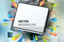 Free vector Vector background  gorgeous threedimensional vector illustration background 1