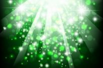 Free vector Vector abstract  Green Bokeh Abstract Light Background Vector Illustration