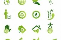 Free vector Vector icon  Green Environmental Icons