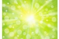 Free vector Vector background  Green light abstract background