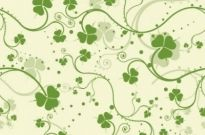 Free vector Vector flower  Green Seamless Floral Vector Background