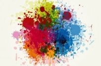 Free vector Vector misc  Grunge Colorful Splashing Vector Illustration