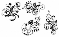 Free vector Vector floral  Hand Drawn Floral