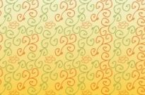 Free vector Vector pattern  Hand Drawn Flower Scrolls Pattern