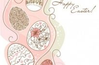 Free vector Vector pattern  handpainted easter pattern 01 vector