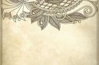 Free vector Vector background  handpainted pattern background 03 vector