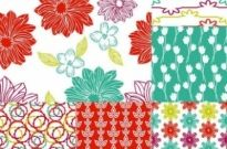 Free vector Vector background  Hand-painted pattern background vector
