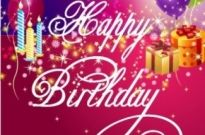 Free vector Vector background  Happy Birthday Background