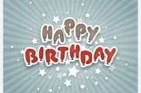 Free vector Vector background  Happy Birthday Background Vector Graphic