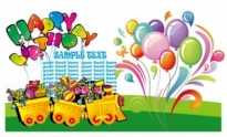 Free vector Vector misc  happy birthday theme vector