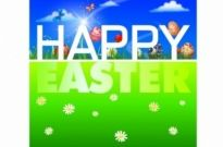 Free vector Vector misc  Happy Easter Background