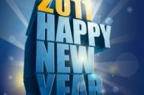 Free vector Vector misc  Happy New Year 2011 3D Vector