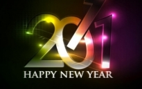 Free vector Vector misc  happy new year 2011 eps Vector part04