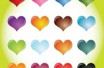 Free vector Vector Heart  Heart Collection