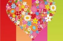 Free vector Vector flower  HEART Flowers