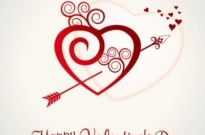 Free vector Vector background  Heart Valentine's Day background